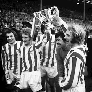 Stoke City FC 1972 Goalie Retro Voetbal Shirt | 2 | COPA