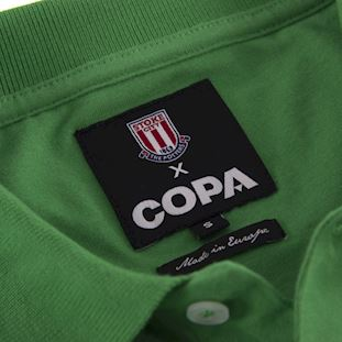 Stoke City FC 1972 Goalie Retro Voetbal Shirt | 5 | COPA