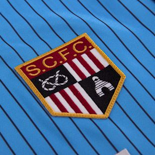 Stoke City FC 1983 - 85 Away Retro Voetbal Shirt | 3 | COPA