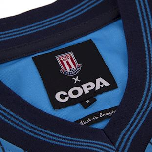 Stoke City FC 1983 - 85 Away Retro Voetbal Shirt | 5 | COPA