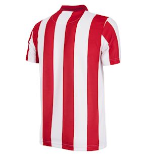 Stoke City FC 1993 - 94 Retro Voetbal Shirt | 4 | COPA