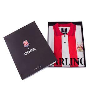 Stoke City FC 1993 - 94 Retro Voetbal Shirt | 6 | COPA