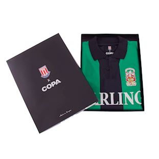 Stoke City FC 1994 - 95 Away Retro Voetbal Shirt | 6 | COPA
