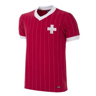 227 | Switzerland 1982 Short Sleeve Retro Football Shirt | 1 | COPA