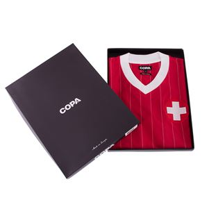 Switzerland 1982 Retro Football Shirt | 6 | COPA