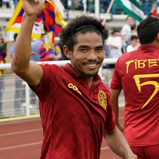 Tibet Away Football Shirt | 9 | COPA