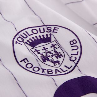 Toulouse FC 1983 - 84 Away Retro Football Shirt | 3 | COPA