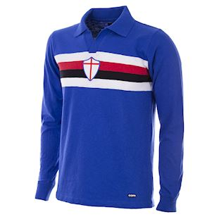 U. C. Sampdoria 1956 - 57 Retro Football Shirt | 1 | COPA