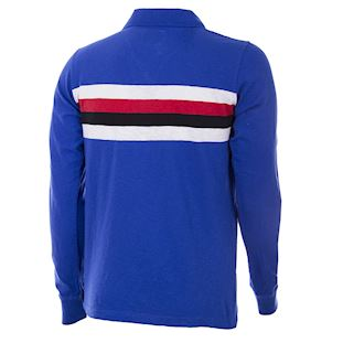 u-c-sampdoria-1956-57-short-sleeve-retro-football-shirt-blue | 4 | COPA