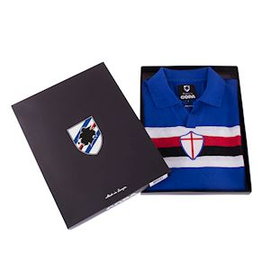 u-c-sampdoria-1956-57-short-sleeve-retro-football-shirt-blue | 6 | COPA