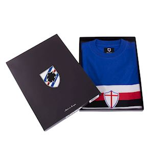 U. C. Sampdoria 1975 - 76 Retro Football Shirt | 6 | COPA