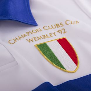 U. C. Sampdoria 1991 - 92 Away Retro Football Shirt | 3 | COPA