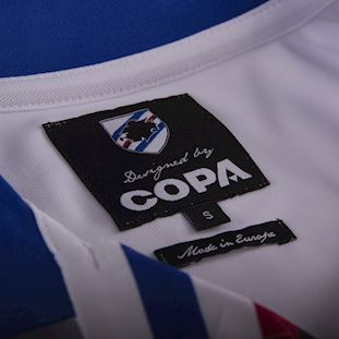 u-c-sampdoria-1991-92-away-short-sleeve-retro-football-shirt-white | 5 | COPA