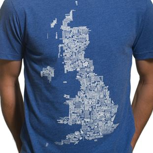 uk-grounds-t-shirt-blue-melee-100-cotton-blue | 2 | COPA