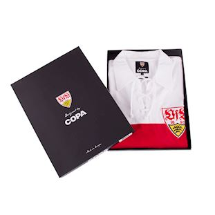 VfB Stuttgart 1958 - 59 Retro Football Shirt | 6 | COPA