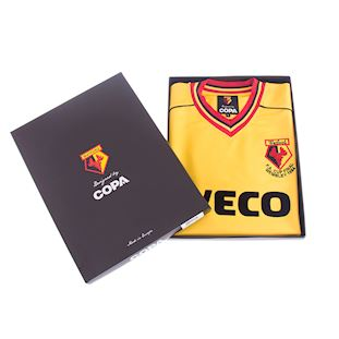 Watford FC 1983 - 84 Retro Football Shirt | 6 | COPA