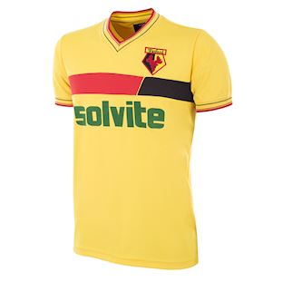 Watford FC 1986 - 87 Retro Football Shirt | 1 | COPA