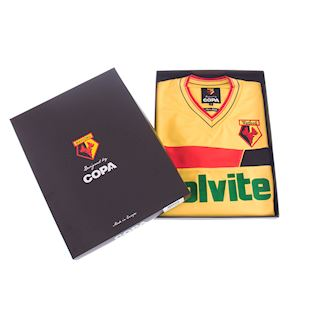 Watford FC 1986 - 87 Retro Football Shirt | 6 | COPA