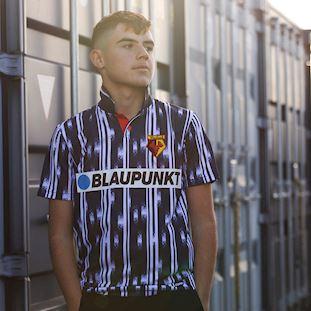 Watford FC 1993 - 95 Away Retro Football Shirt | 8 | COPA