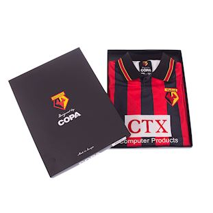 Watford FC 1997 - 98 Away Retro Football Shirt | 6 | COPA