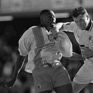Watford FC 1997 - 98 Retro Football Shirt   2   COPA