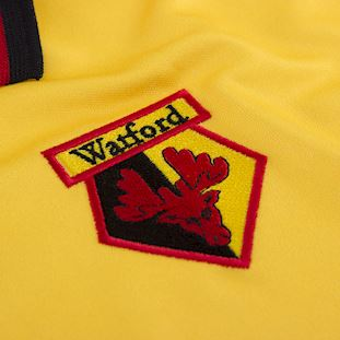 Watford FC 1997 - 98 Retro Football Shirt   4   COPA