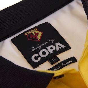 Watford FC 1997 - 98 Retro Football Shirt   5   COPA