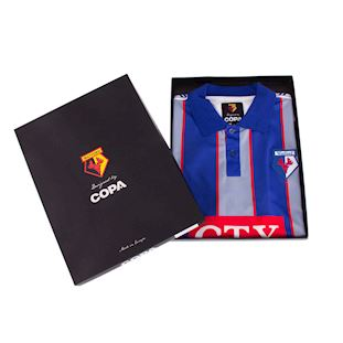 Watford FC 1998 - 99 Away Retro Football Shirt | 8 | COPA