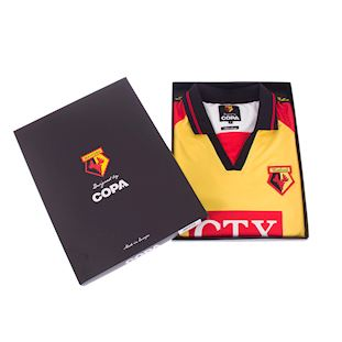 Watford FC 1998 - 99 Retro Football Shirt | 7 | COPA