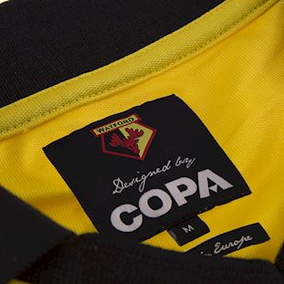 Watford FC 1999 - 00 Retro Football Shirt | 6 | COPA