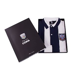 West Bromwich Albion 1953 - 54 Retro Football Shirt | 6 | COPA