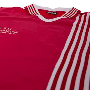 766 | Aberdeen FC 1976 - 1977 League Cup Final Short Sleeve Retro Football Shirt | 5 | COPA