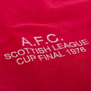 766 | Aberdeen FC 1976 - 1977 League Cup Final Short Sleeve Retro Football Shirt | 3 | COPA