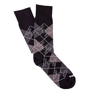 argyle-pitch-socks-black-dark-grey-grey-white-blackdarkgreygreywhite | 1 | COPA