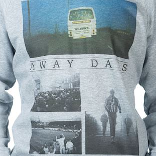 6449 | Away Days Sweater | Grey Mêlée | 2 | COPA