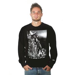 6450 | Barra Brava Sweater | Black | 1 | COPA