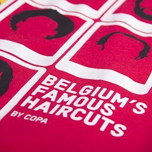 Belgium's Famous Haircuts T-Shirt | 4 | COPA