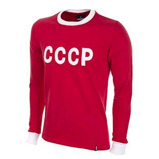 633   CCCP 1970's Long Sleeve Retro Football Shirt   1   COPA