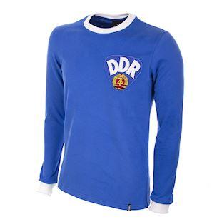 625 | DDR 1970's Long Sleeve Retro Football Shirt | 1 | COPA