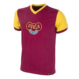 658 | Dukla Prague 1960's Short Sleeve Retro Football Shirt | 1 | COPA