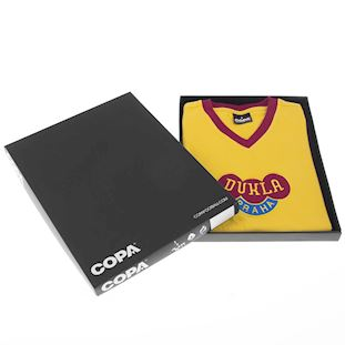 Dukla Prague Away 1960's Retro Football Shirt | 6 | COPA