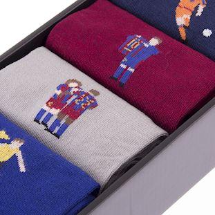 FC Barcelona Casual Socks Box Set | 3 | COPA
