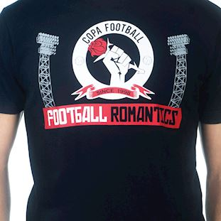 6667 | Football Romantics T-Shirt | Black | 2 | COPA