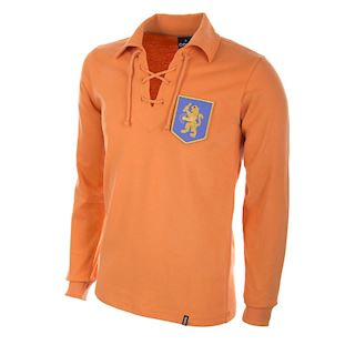 614 | Holland 1950's Long Sleeve Retro Football Shirt | 1 | COPA