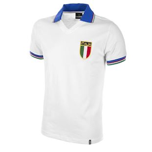 Italy Away World Cup 1982 Retro Football Shirt | 1 | COPA