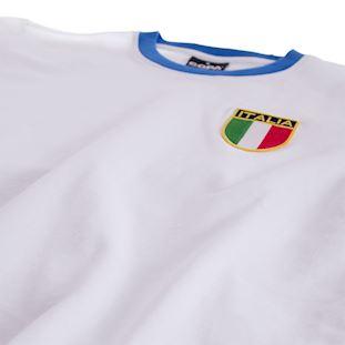 Italy Away 1960's Retro Football Shirt   5   COPA