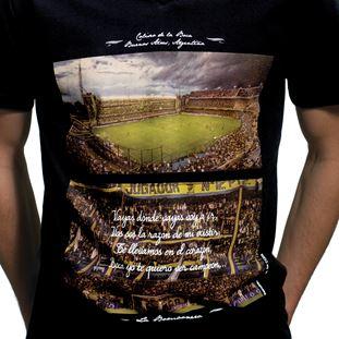 6643 | La Bombonera V-Neck T-Shirt | 2 | COPA