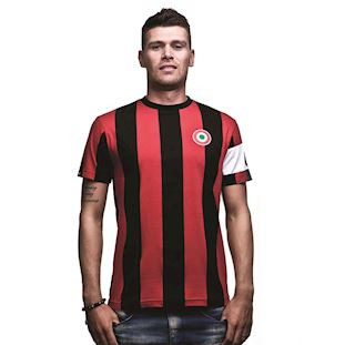 6590 | Milan Capitano T-Shirt | Black - Red | 1 | COPA