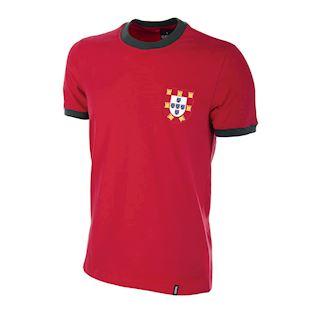 206 | Portugal 1960's Short Sleeve Retro Football Shirt | 1 | COPA