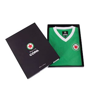 red-star-fc-1970s-short-sleeve-retro-football-shirt-green | 6 | COPA